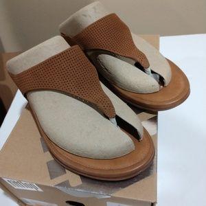 Women's Banda Tan FitFlop Sandals, Size 8 NIB